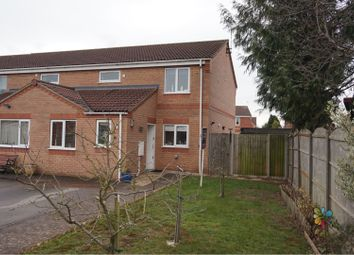 Thumbnail 3 bed end terrace house for sale in Brookside Close, Sleaford