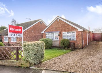 Thumbnail 2 bedroom detached bungalow for sale in Nursery Close, Thurlaston, Leicester