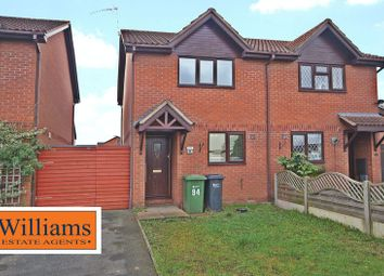 Thumbnail 2 bedroom semi-detached house for sale in The Pastures, Lower Bullingham, Hereford