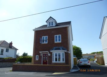 Thumbnail 4 bed detached house for sale in Blaenau Road, Llandybie, Ammanford