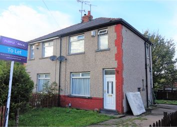 Thumbnail 3 bedroom semi-detached house to rent in Woodale Avenue, Bradford