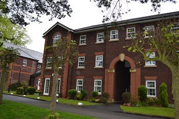Thumbnail 2 bed flat for sale in The Uplands, Bishopton Drive, Macclesfield