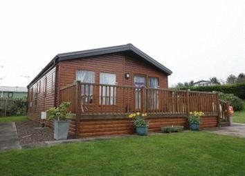 Thumbnail 2 bed lodge for sale in Dunbar