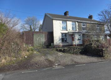 Thumbnail 2 bed semi-detached house for sale in Penycoedcae Road, Beddau, Pontypridd