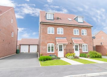 Thumbnail 4 bed semi-detached house for sale in Birch Lane, Leicester