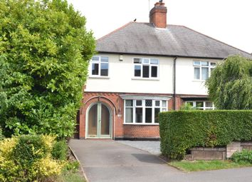 Thumbnail 3 bed semi-detached house for sale in Leicester Road, Shepshed, Leicestershire