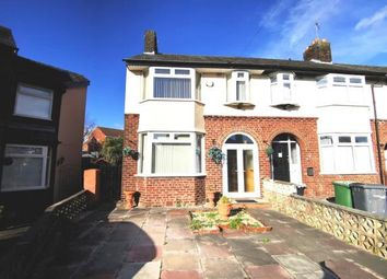 3 bed end terrace house for sale in Windsor Close, New Ferry, Wirral, Merseyside CH62