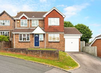 Thumbnail 4 bed detached house for sale in Sorley Close, Marlborough, Wiltshire