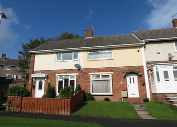 Thumbnail 2 bed terraced house for sale in Dean Close, Peterlee, County Durham