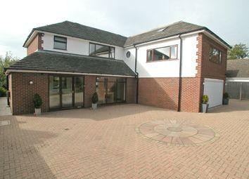 Thumbnail 4 bed detached house for sale in School Lane, Little Neston, Neston