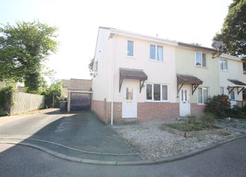 Thumbnail 3 bed end terrace house for sale in Delamore Close, Woodlands, Ivybridge