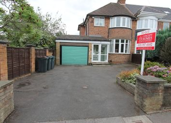 Thumbnail 3 bed semi-detached house to rent in Hamstead Hall Avenue, Handsworth Wood