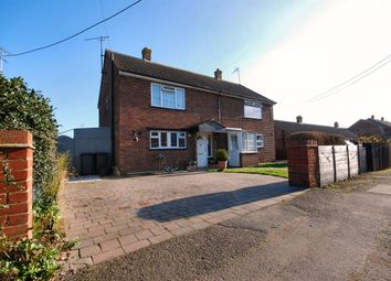 Thumbnail 3 bed semi-detached house for sale in Hollow Street, Chislet, Canterbury