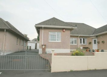 Thumbnail 2 bed semi-detached bungalow for sale in Seymour Road, Plympton, Plymouth