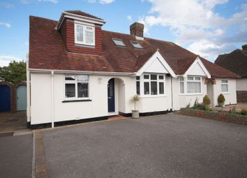 Thumbnail 3 bed semi-detached house for sale in Wellington Grove, Portchester, Fareham