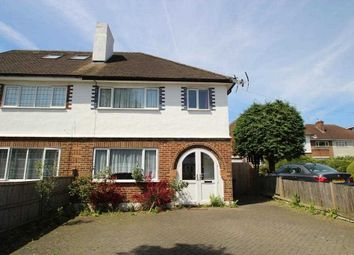 Thumbnail 3 bed semi-detached house to rent in Featherstone Road, London
