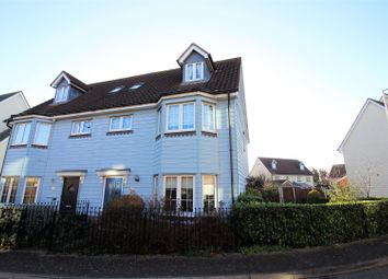 Thumbnail 4 bed semi-detached house for sale in 21 Birchfield, North Stifford, Grays
