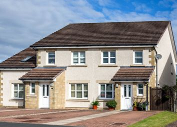 Thumbnail 3 bed semi-detached house for sale in Polwarth Avenue, St Boswells, Nr Melrose