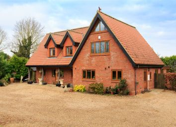 Thumbnail 4 bed detached house for sale in Honingham, Norwich