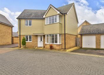 Thumbnail 3 bed detached house for sale in Bargroves Avenue, St Neots, Cambridgeshire