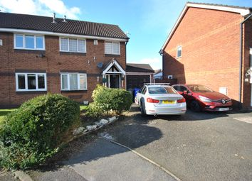 Thumbnail 3 bed semi-detached house for sale in Finstock Close, Eccles Manchester