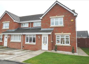 Thumbnail 3 bed semi-detached house for sale in Pear Grove, Carfin, Motherwell