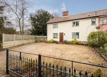 Thumbnail 3 bed semi-detached house for sale in Rectory Road, Wortham, Diss