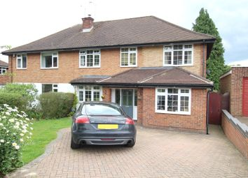Thumbnail 5 bedroom semi-detached house for sale in Sherwood Avenue, St. Albans, Hertfordshire