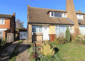 Thumbnail 2 bed semi-detached house for sale in Grovelands Avenue, Hitchin, Hertfordshire