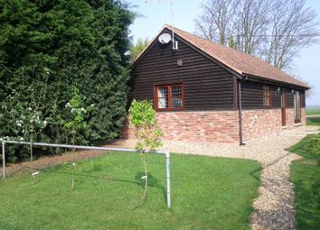 Thumbnail 1 bed bungalow to rent in Glassmoor Bank, Whittlesey, Peterborough