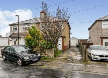 Thumbnail 3 bed semi-detached house for sale in Warley Avenue, Morecambe, Lancashire, United Kingdom
