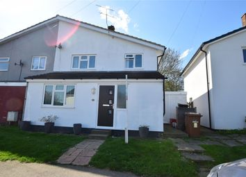 Thumbnail 3 bed semi-detached house for sale in Hyde Green, Stevenage, Hertfordshire