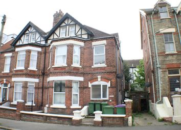 Thumbnail 2 bed flat to rent in 18 Connaught Road, Folkestone, Kent