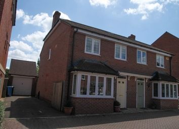Thumbnail 3 bed semi-detached house to rent in Pexalls Close, Hook