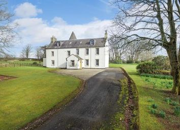 Thumbnail 5 bed equestrian property for sale in Monkredding House, Kilwinning, Ayrshire