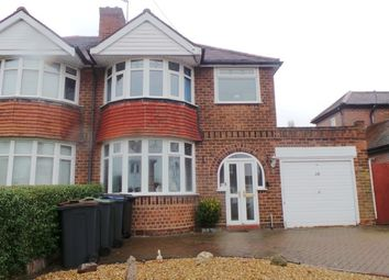 Thumbnail Semi-detached house for sale in Parkhill Road, Sutton Coldfield