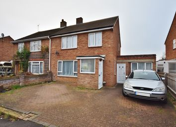Thumbnail 3 bed semi-detached house for sale in Bradstocks Way, Sutton Courtenay, Abingdon
