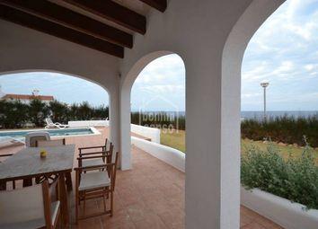 Thumbnail 3 bed villa for sale in Cap Dartruix, Ciutadella De Menorca, Balearic Islands, Spain