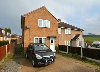 Thumbnail 3 bedroom semi-detached house for sale in Barnes Road, Hady, Chesterfield