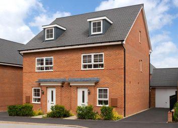 "Thumbnail 4 bedroom end terrace house for sale in ""Kingsville"" at Phoenix Lane, Fernwood, Newark"