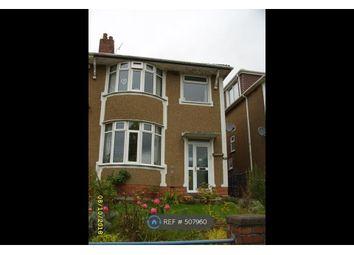 Thumbnail 3 bedroom semi-detached house to rent in Pengam Road, Ystrad Mynach, Hengoed