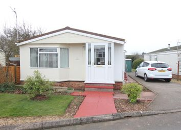 Thumbnail 3 bedroom mobile/park home for sale in Springfield Park, Off Wykin Road, Hinckley
