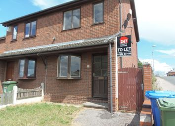 Thumbnail 2 bed terraced house to rent in The Croft, Retford