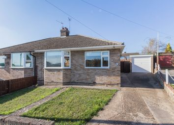 Thumbnail 2 bed semi-detached bungalow for sale in Knightlands Road, Irthlingborough, Wellingborough