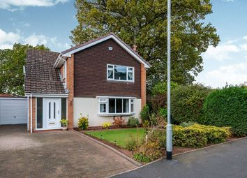 Thumbnail 4 bed detached house for sale in Silverthorn Way, Stafford