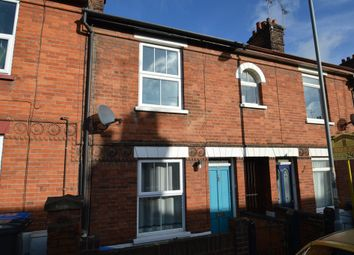 Thumbnail 2 bedroom terraced house to rent in Suffolk Road, Ipswich