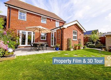 Thumbnail 4 bed detached house for sale in Hawksley Crescent, Hailsham