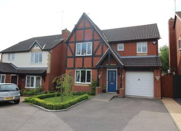 Thumbnail 4 bed detached house for sale in Forest Edge Way, Horninglow, Burton-On-Trent