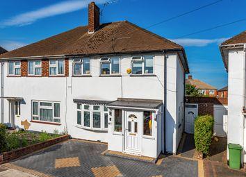 Thumbnail Semi-detached house for sale in Regent Avenue, Hillingdon, Middlesex