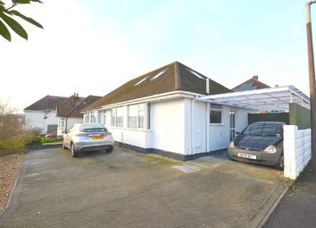 Thumbnail 3 bedroom semi-detached bungalow for sale in Churchill Crescent, Parkstone, Poole